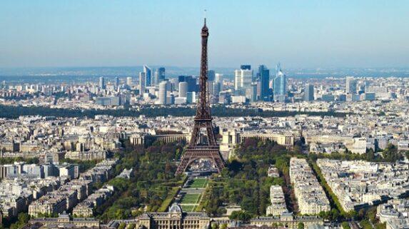 Paris balão parque Citroen