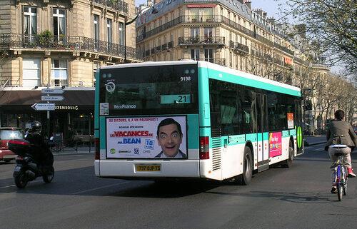 Os transportes parisienses