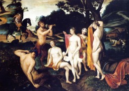 O Banho de Diana, c. 1559- 1560, François Clouet