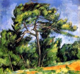 O Grande Pinheiro, 1890-1896, Cezann