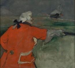 Paul Viaud em Almirante, 1901, Toulouse Lautrec