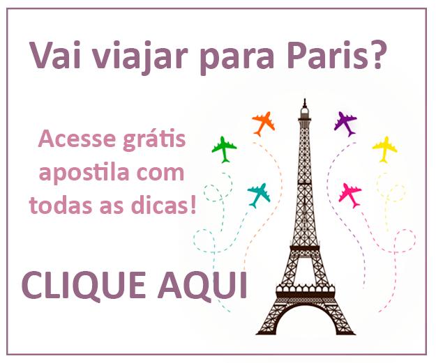 Dicas de viagem para Paris