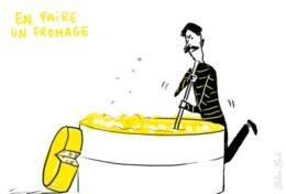 faire un fromage