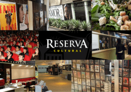 Reserva Cultural - Espaço