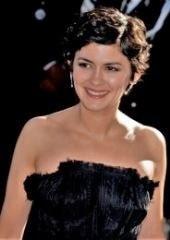 A atriz Audrey Tautou