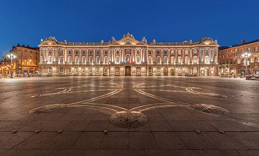 Toulouse praça Capitole França