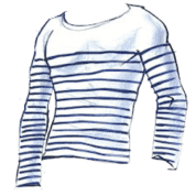 camisa listrada francesa